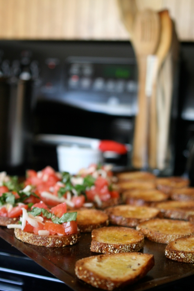 Cooking On Easy Street :: Bruschetta | {Re}visionary Life